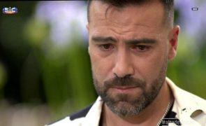 Sérgio Rosado Recorda lavado em lágrimas período muito difícil: