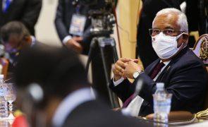 Covid-19: Portugal vai triplicar oferta de vacinas aos PALOP e Timor-Leste - António Costa