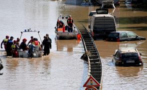 Sobe para 168 número de mortos em inundações na Alemanha e na Bélgica