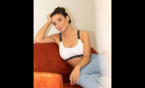Carolina Carvalho Regressa às gravações da novela da SIC após cirurgia de urgência