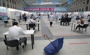 Covid-19: Rússia atinge novo máximo semanal de mortes desde o início da pandemia