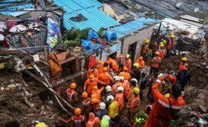 Deslizamento de terras faz pelo menos 34 mortos