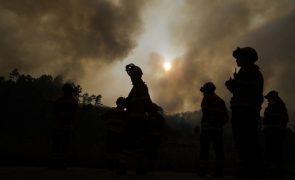 Incêndios: Fogo na Sertã em