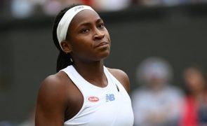 Tóquio2020: Tenista norte-americana Coco Gauff testa positivo e falha prova