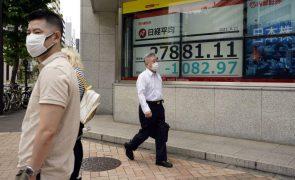 Bolsa de Tóquio abre a perder 1,08%