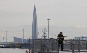Marinha de Guerra da Rússia testa com êxito míssil de cruzeiro hipersónico