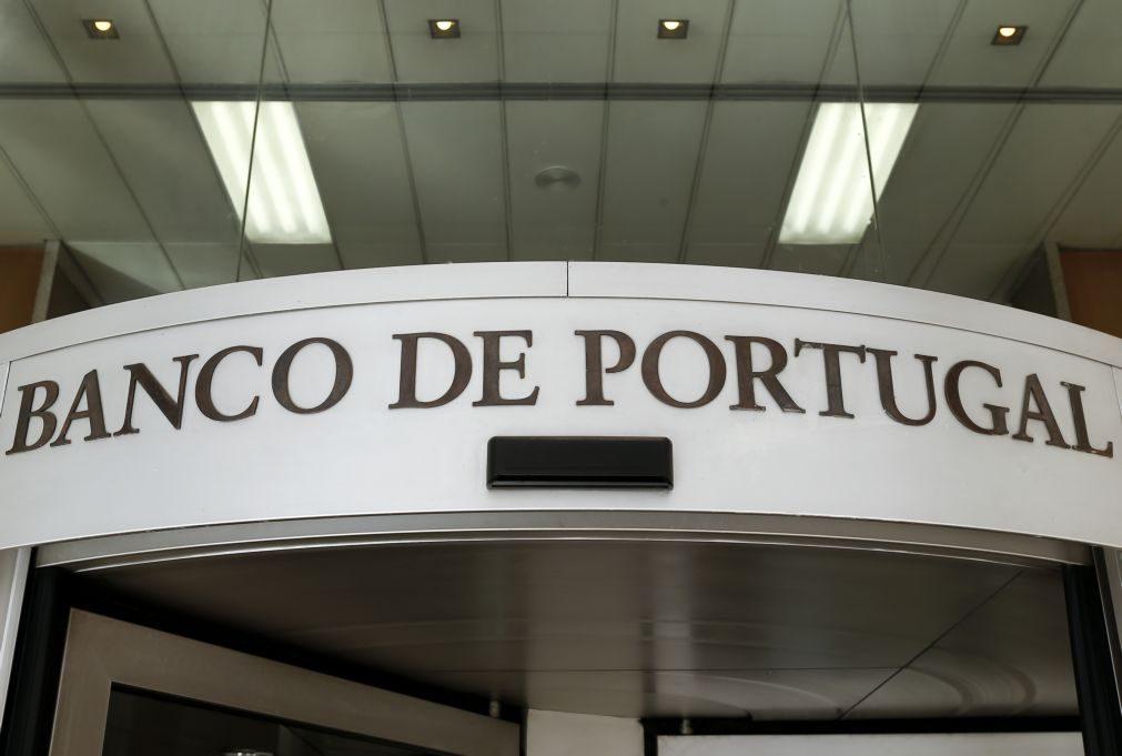 Bancos portugueses com menos ativos financeiros internacionais com risco em março