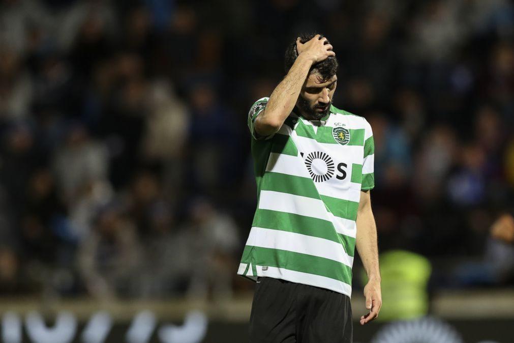 Luís Neto diz que o Sporting tem de elevar nível de exigência