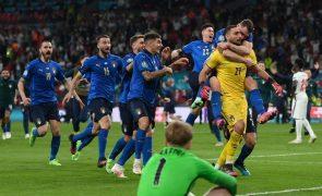 Federação inglesa abre inquérito aos incidentes na final do Euro 2020