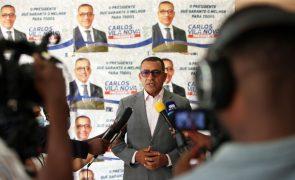 São Tomé/Eleições:  Candidato Vila Nova reclama vitória à primeira volta
