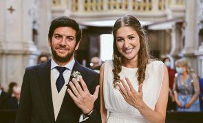 Presidente do CDS casou-se neste fim de semana [fotos]