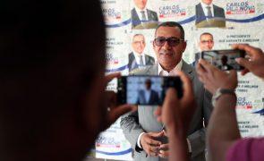 São Tomé/Eleições: Carlos Vila Nova e Guilherme Posser da Costa disputam segunda volta - CEN