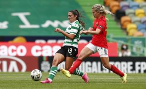 Benfica e Sporting defrontam-se na Supertaça feminina em 28 de agosto no Restelo