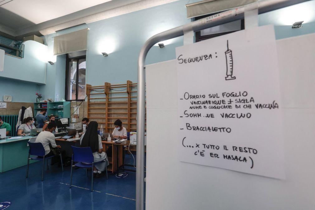 Covid-19: Itália regista 2.072 novos casos e sete mortes nas últimas 24 horas