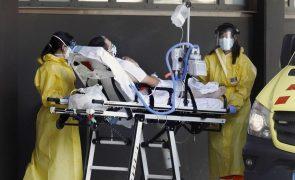 Covid-19: Aumenta em Espanha número de doentes nos cuidados intensivos