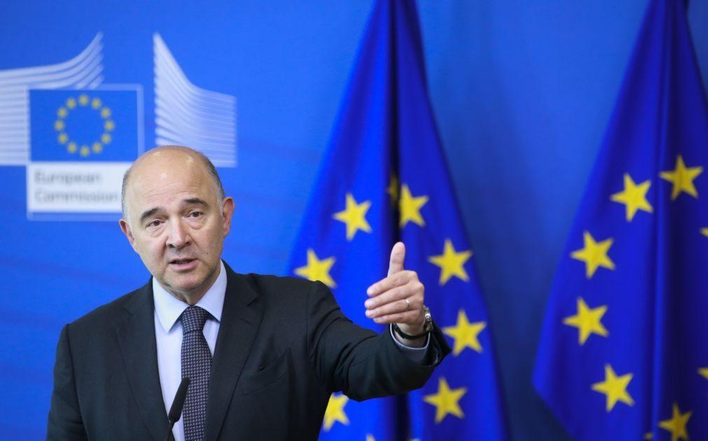 Comissário Moscovici diz que é toda a zona euro que vira uma página