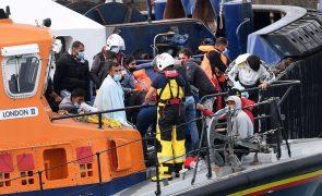 Novo recorde diário de migrantes a atravessar o Canal da Mancha