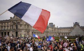 Covid-19: Novos casos diários em França disparam para 18 mil