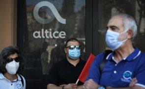 Trabalhadores da Altice Portugal em greve contra despedimento coletivo