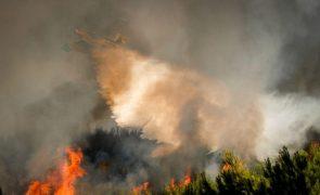 Incêndios: 21 concelhos do interior Norte e Centro e do Algarve em risco máximo