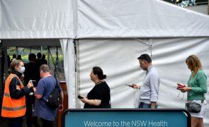 Covid-19: Governo australiano admite