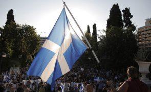 Covid-19: Manifestações na Grécia contra vacinação obrigatória para cuidadores