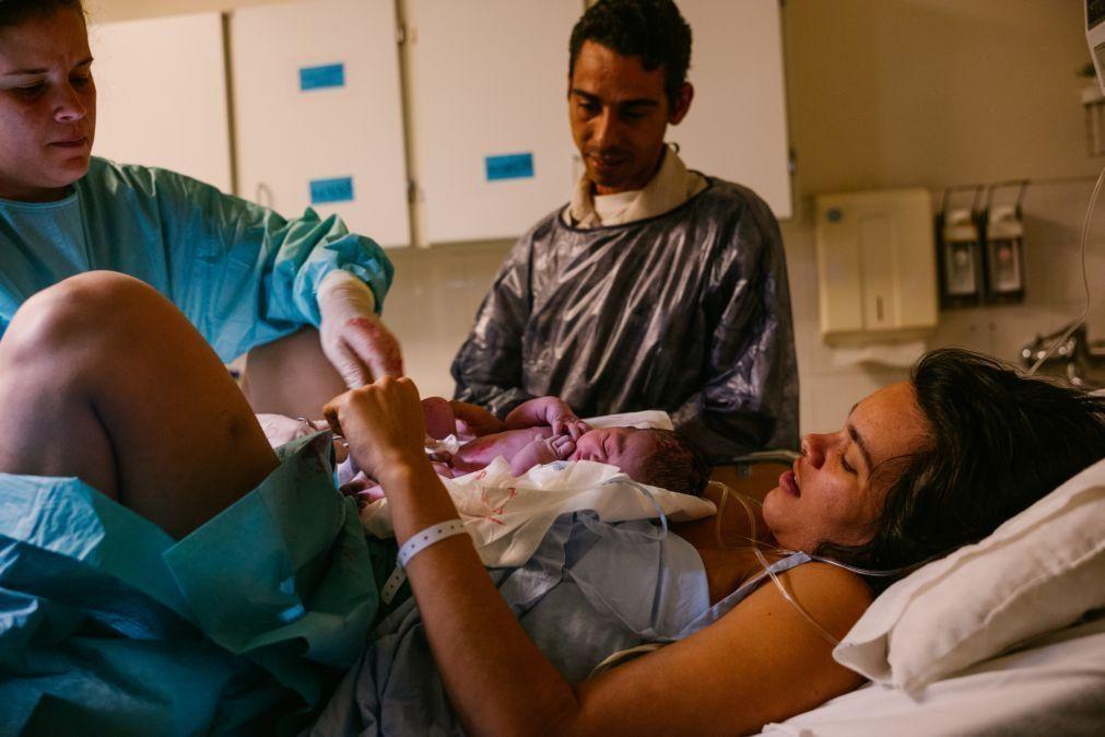 Mais de metade dos bebés nascidos no ultimo ano amamentados na 1.ª hora de vida