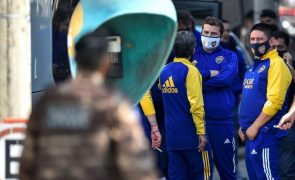 Boca Juniors forçado a isolamento após 'prolongamento' em esquadra de polícia