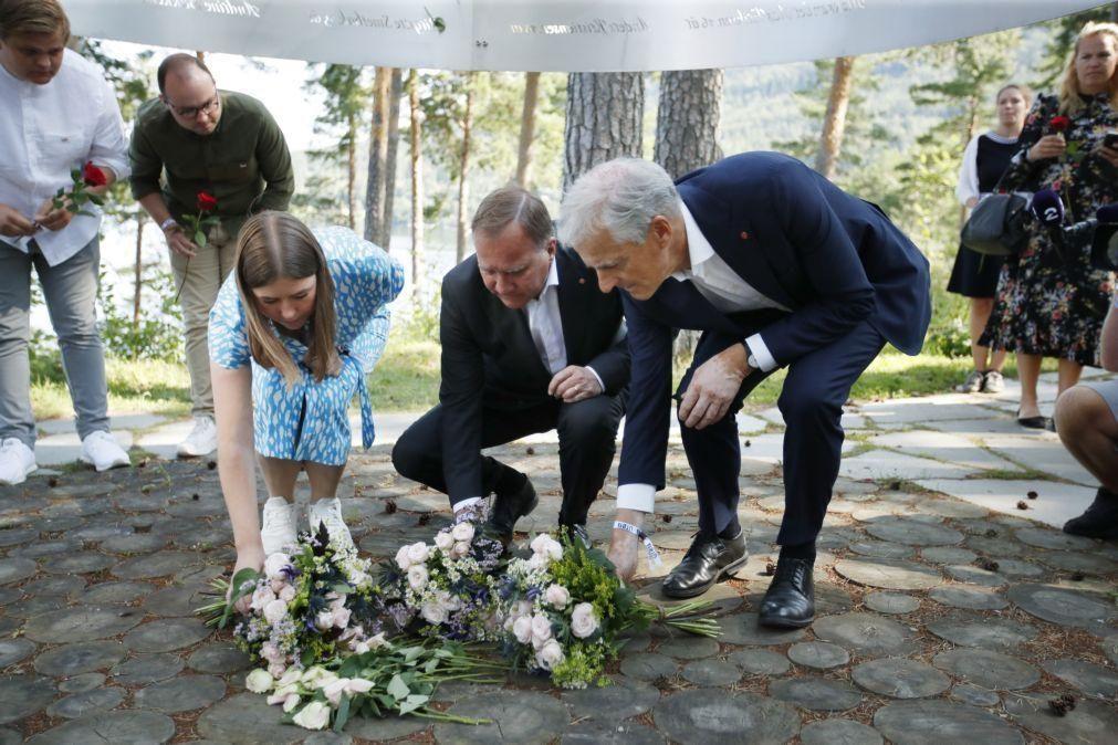 Noruega assinala massacre de 2011 com mensagem contra o ódio e a extrema direita