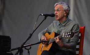 Caetano Veloso termina digressão europeia com concertos em Lisboa, Guarda e Porto