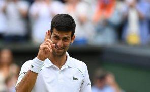 Tóquio2020: Djokovic confiante na conquista de uma medalha