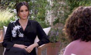 Meghan e Harry Entrevista que concederam a Oprah está nomeada para os Emmys
