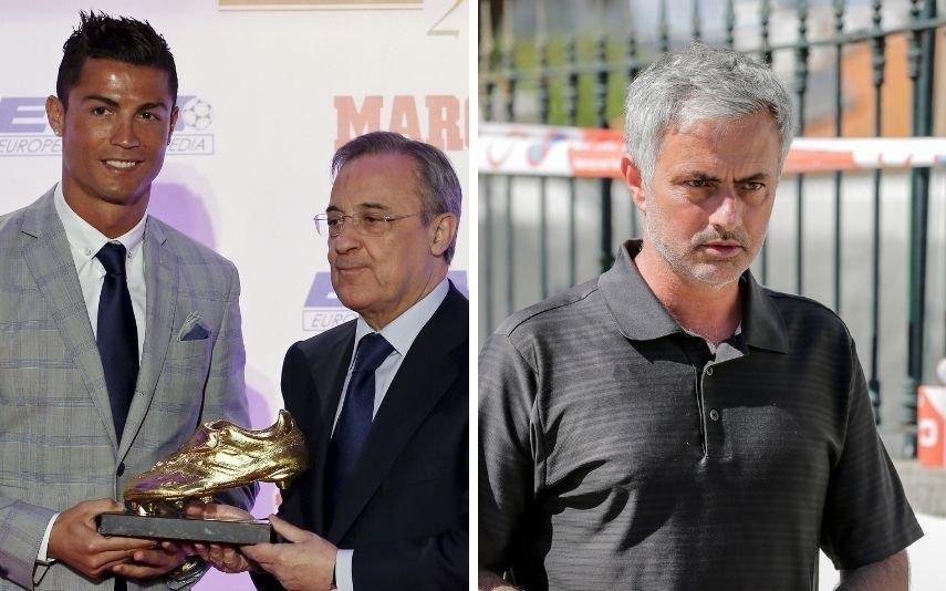 Florentino Pérez Bomba! Presidente do Real Madrid sobre Ronaldo e Mourinho: