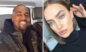 Irina Shayk e Kanye West Romance chegou ao fim: