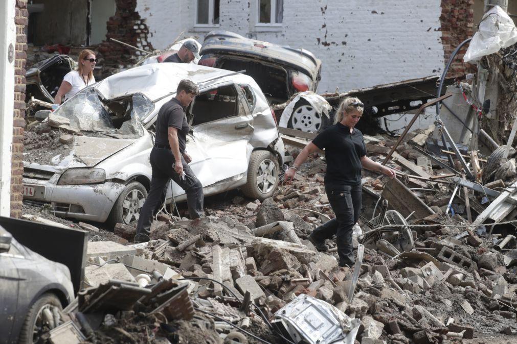 Inundações fizeram 37 mortos na Bélgica