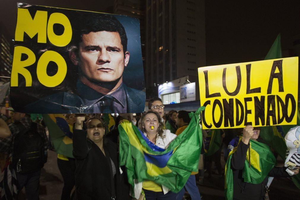 Lula da Silva: condenação mostra força do Estado