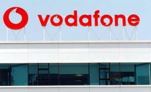 Receitas totais da Vodafone sobem 8,4% no 1.º trimestre fiscal para 281ME
