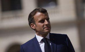 Tóquio2020: Macron diz que França está preparada para Paris2024