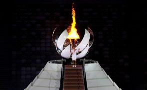 Tóquio2020: Naomi Osaka acendeu a chama olímpica