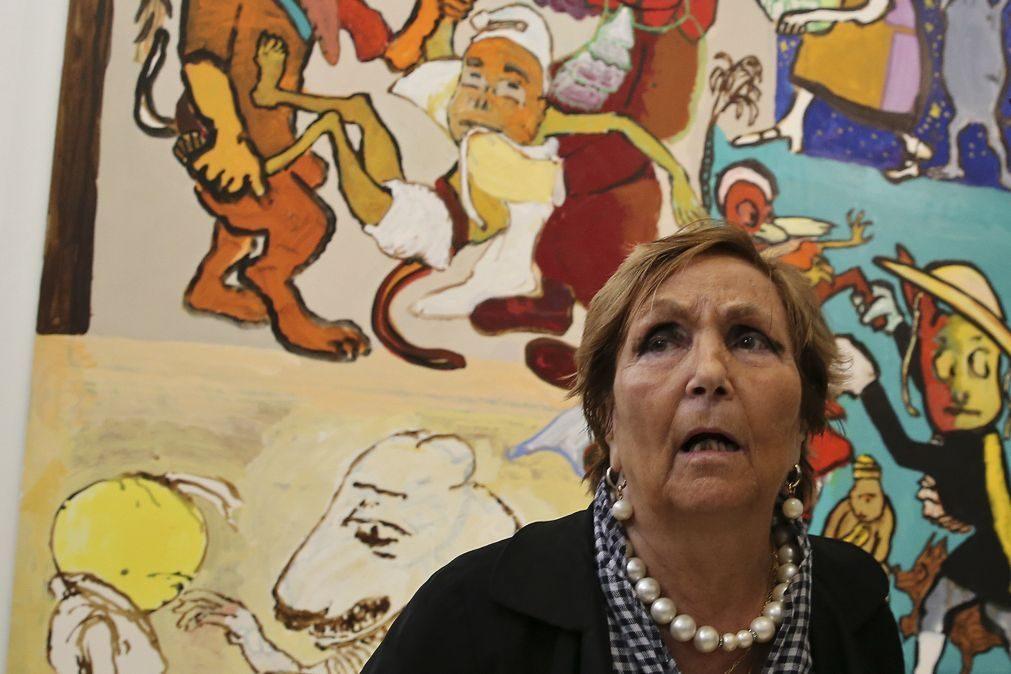 Paula Rego homenageada na Bienal de Cerveira