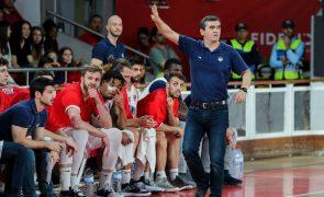 Norberto Alves regressa ao comando da equipa de basquetebol do Benfica