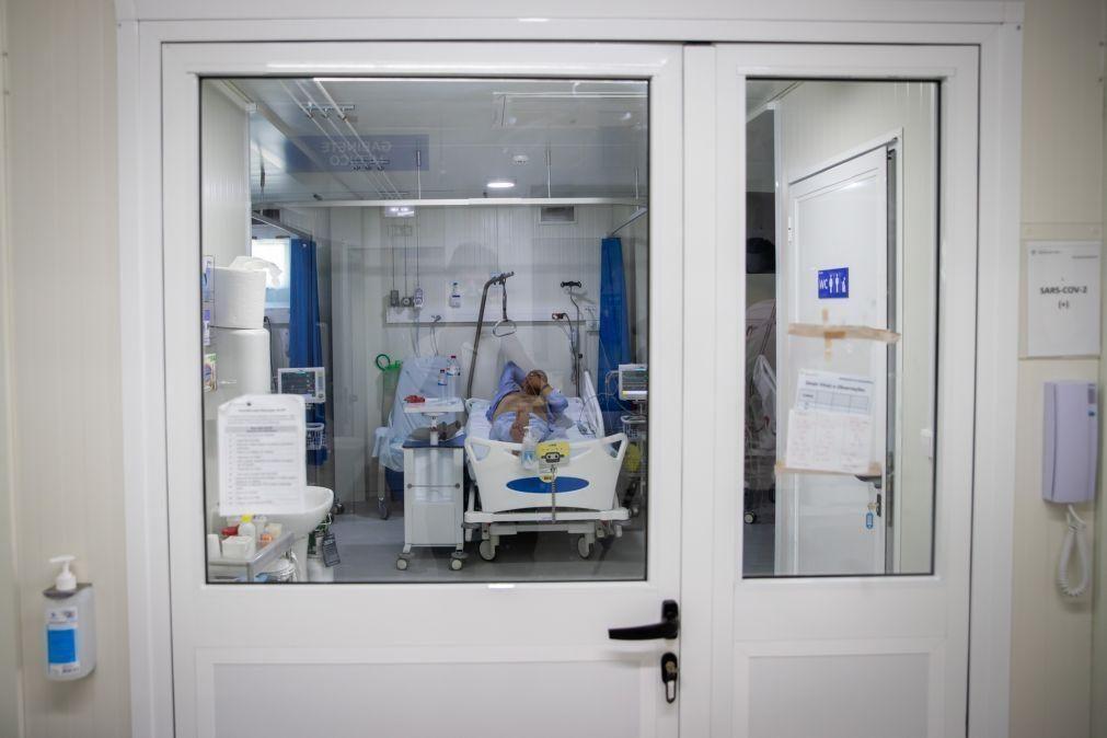 Covid-19: Hospital Garcia de Orta continua sob