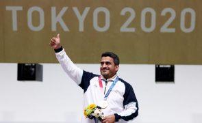Tóquio2020: Irão conquista ouro no tiro com novo recorde olímpico