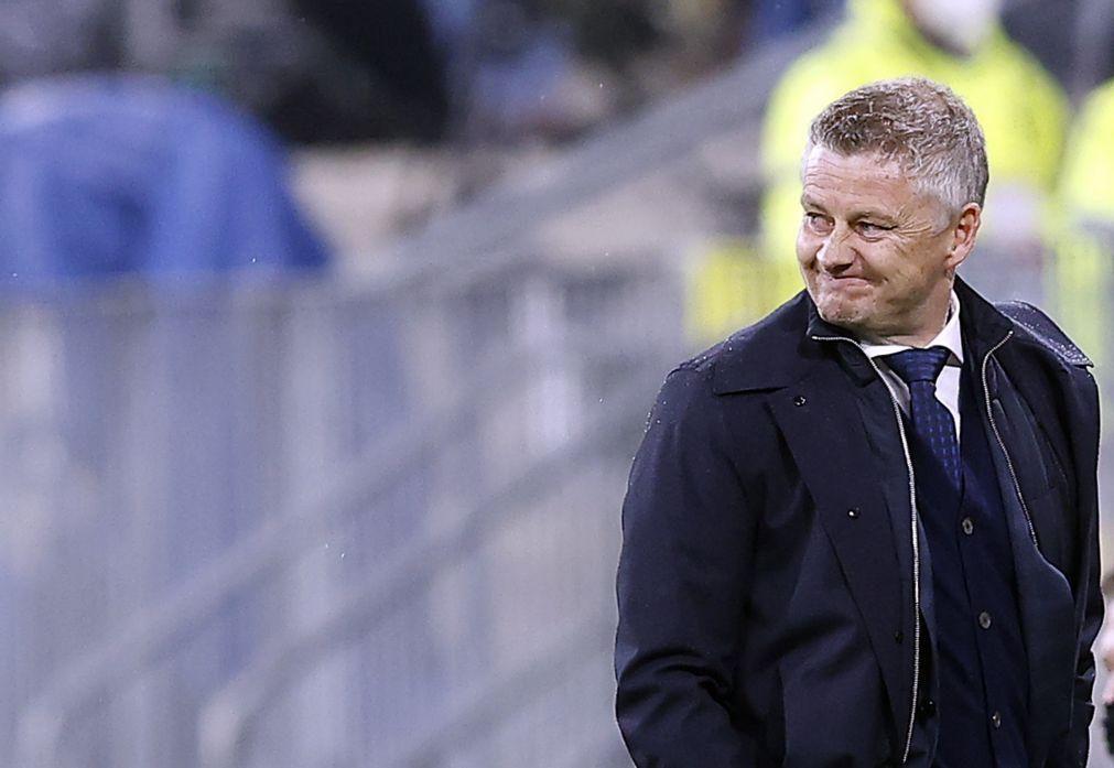 Treinador Ole Gunnar Solskjaer renova com o Manchester United até 2024