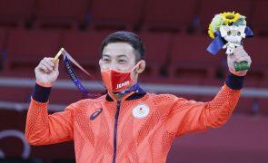 Tóquio2020: Naohisa Takato vence no judo e garante primeiro ouro do Japão