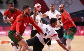 Tóquio2020: Portugal estreia-se no andebol com derrota frente ao Egito