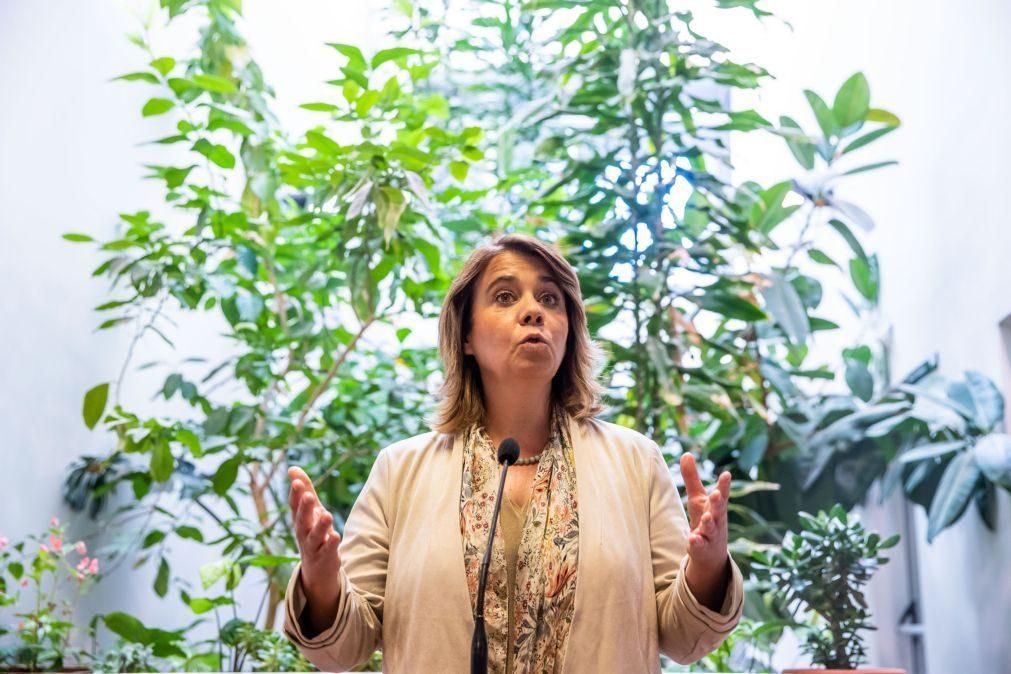 Catarina Martins pede compromisso para
