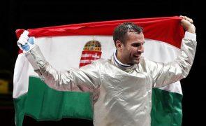 Tóquio2020: Húngaro Szilagyi é o primeiro homem com três títulos seguidos na esgrima