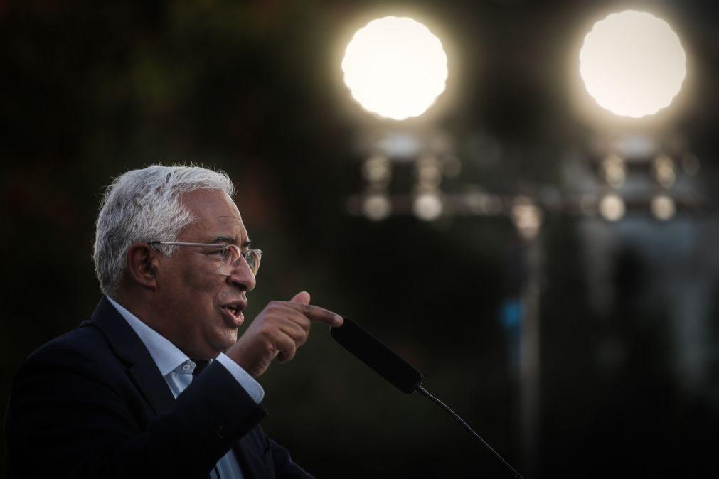Costa: Eleições marcam