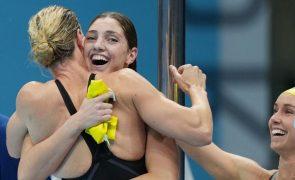 Tóquio2020: Estafeta feminina australiana bate recorde do mundo dos 4x100 livres